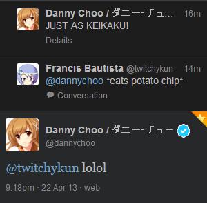 danny choo-senpai noticed me