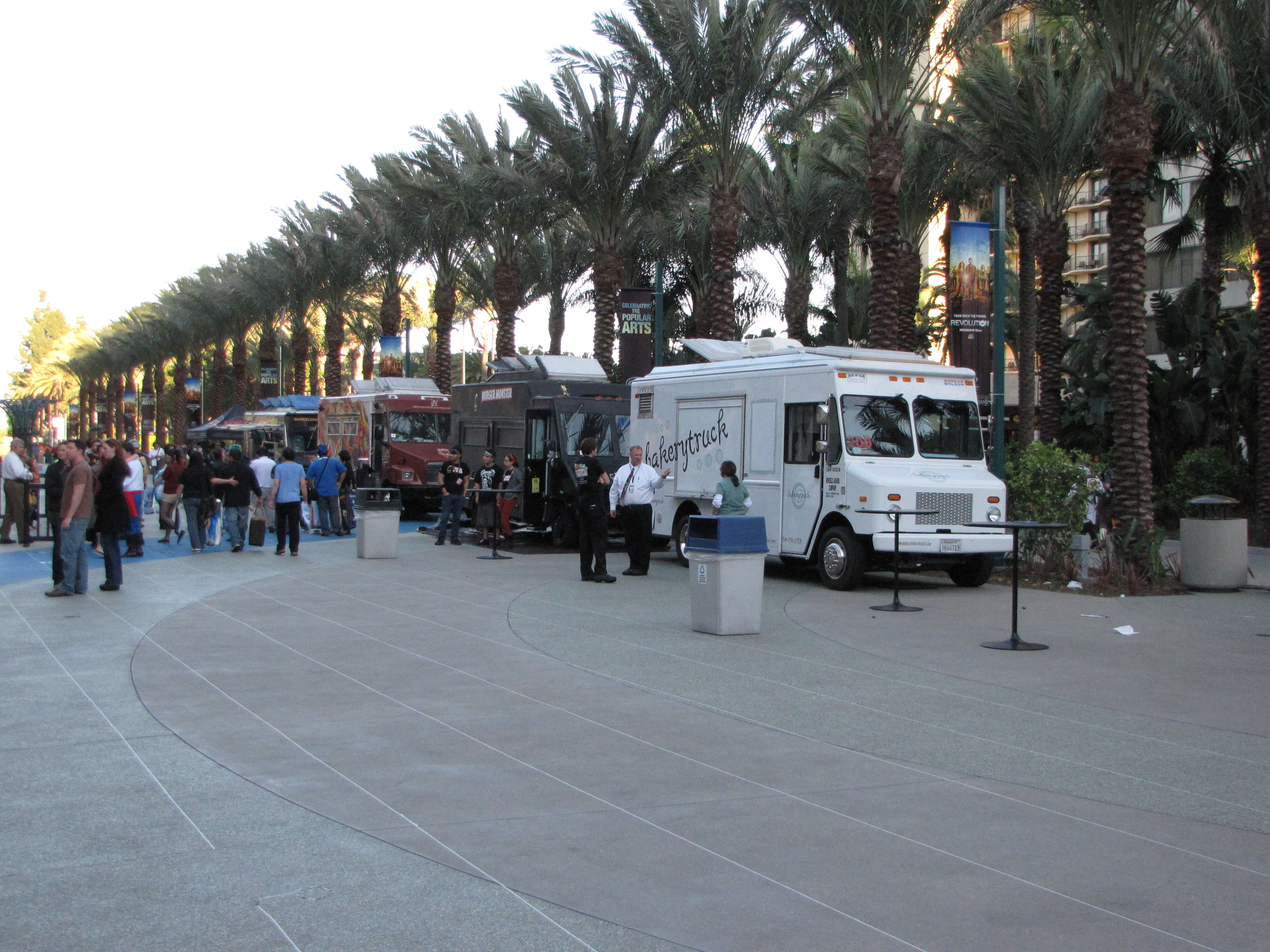 Food trucks...