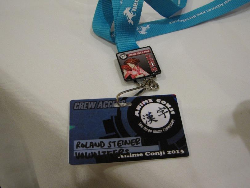 My staff badge...