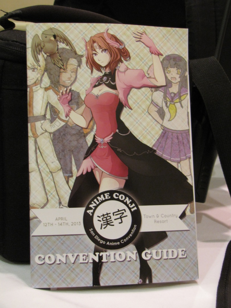 The program guide...that arrived late to the con...