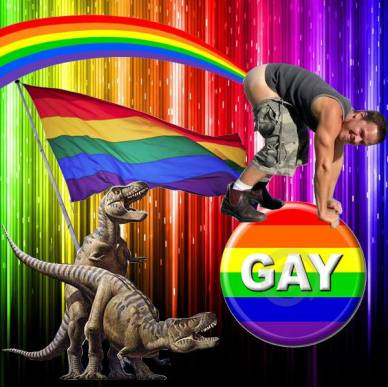 even gayer dinosaurs